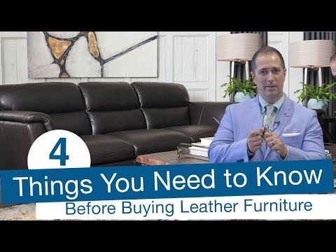 4 things you need to know before buying leather furniture (quality, durability, and options)