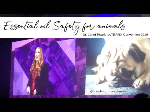 Essential oil safety for dogs, cats, horses - the essential oil vet, dr. janet roark
