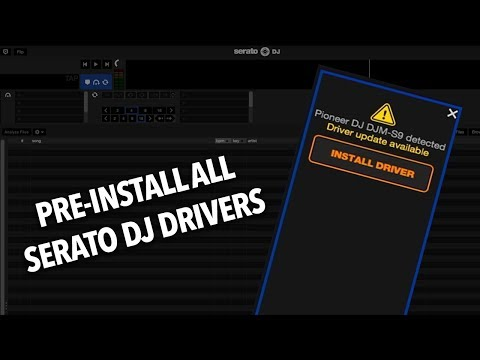 How to install serato dj drivers without hardware