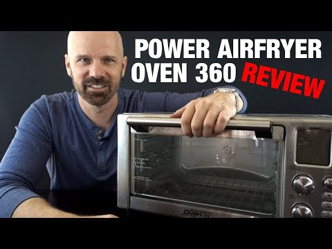 Power airfryer oven 360 review: does it work?