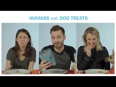 This is what happens when humans eat dog treats