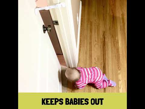 How to baby proof the litter box with the door buddy