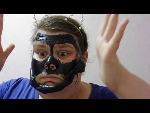 Painful peel off black charcoal mask- the pain!!!!   sophiemarie