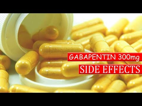 What are the side effects of gabapentin 300 mg | gabapentin 300 mg side effects