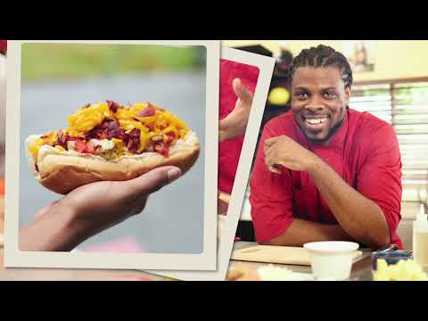 Gourmet bad dawgs with andre cooks