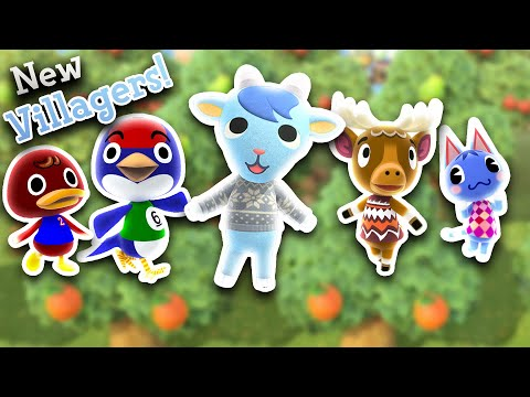 How to get more villagers in animal crossing: new horizons