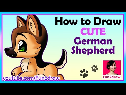 How to draw a dog | draw easy, draw cute! | mei yu - online art classes