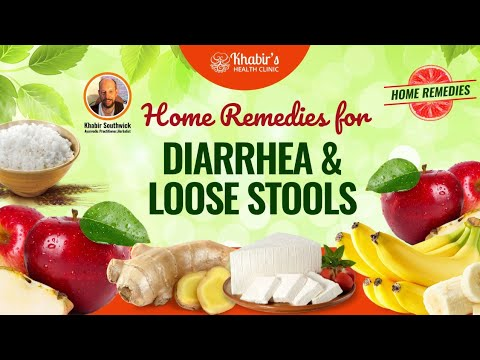Home remedies for naturally treating diarrhea & loose stools