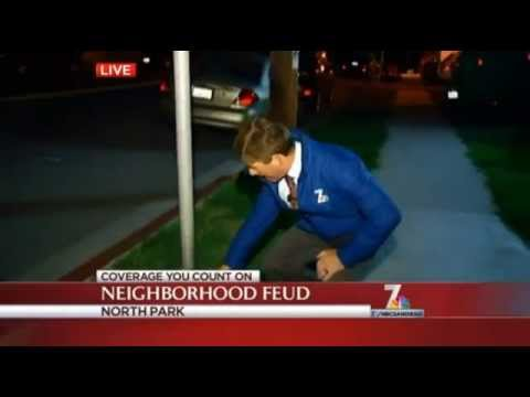 Man dumps chocolate chips on lawn to deter dogs