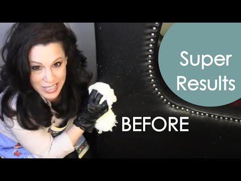 Cover scratches and repair leather furniture - renee romeo